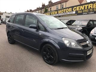 Vauxhall Zafira for sale