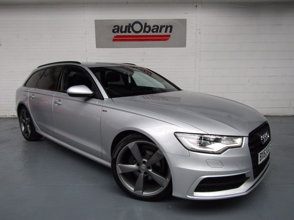 used Audi A6 Avant TDI S LINE BLACK EDITION in sheffield