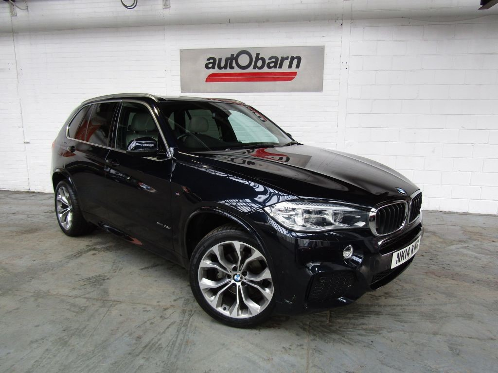 used BMW X5 XDRIVE30D M SPORT in sheffield