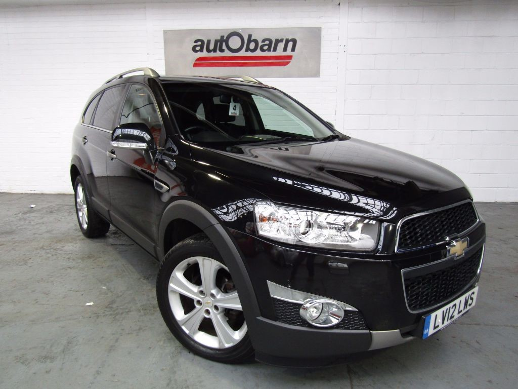 used Chevrolet Captiva LTZ VCDI in sheffield