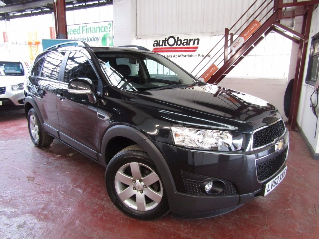 used Chevrolet Captiva VCDi LT 4X4 5dr in sheffield