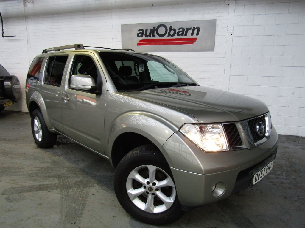 used Nissan Pathfinder SPORT DCI in sheffield
