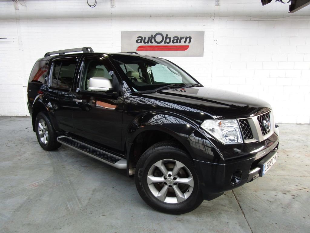 used Nissan Pathfinder PLATINUM DCI in sheffield