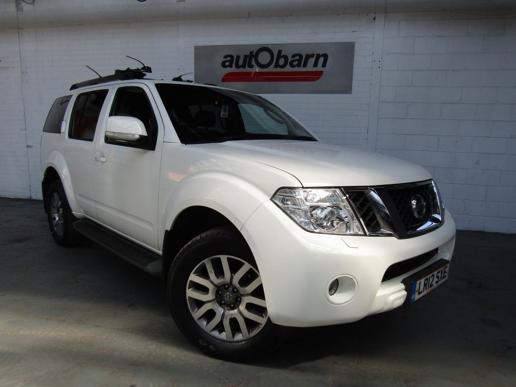 used Nissan Pathfinder TEKNA DCI in sheffield