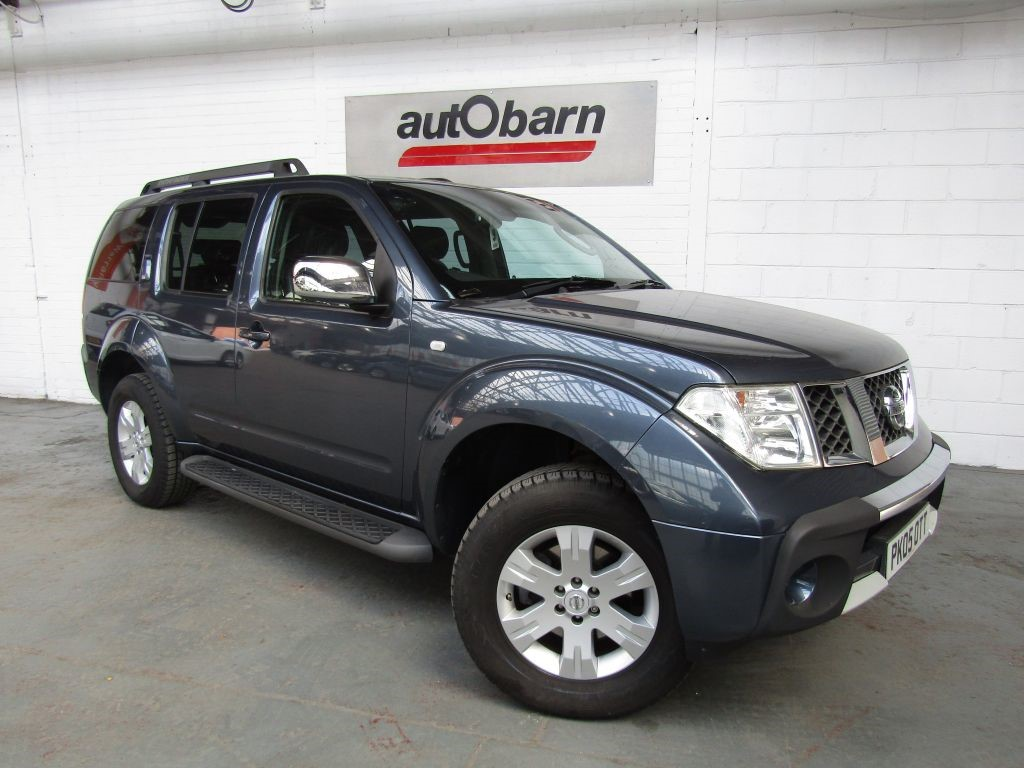 used Nissan Pathfinder SVE DCI in sheffield