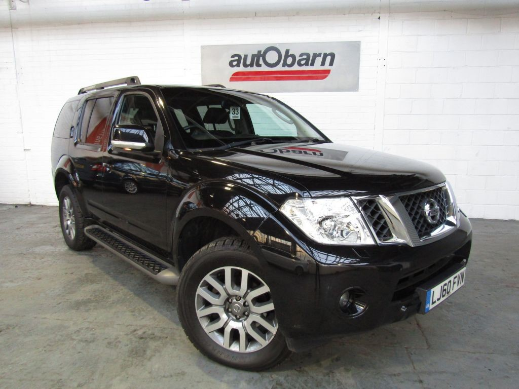 used Nissan Pathfinder 2.5 DCI TEKNA in sheffield