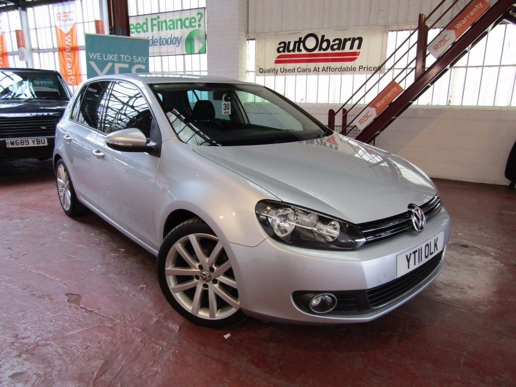 used VW Golf TDI GT 5dr in sheffield