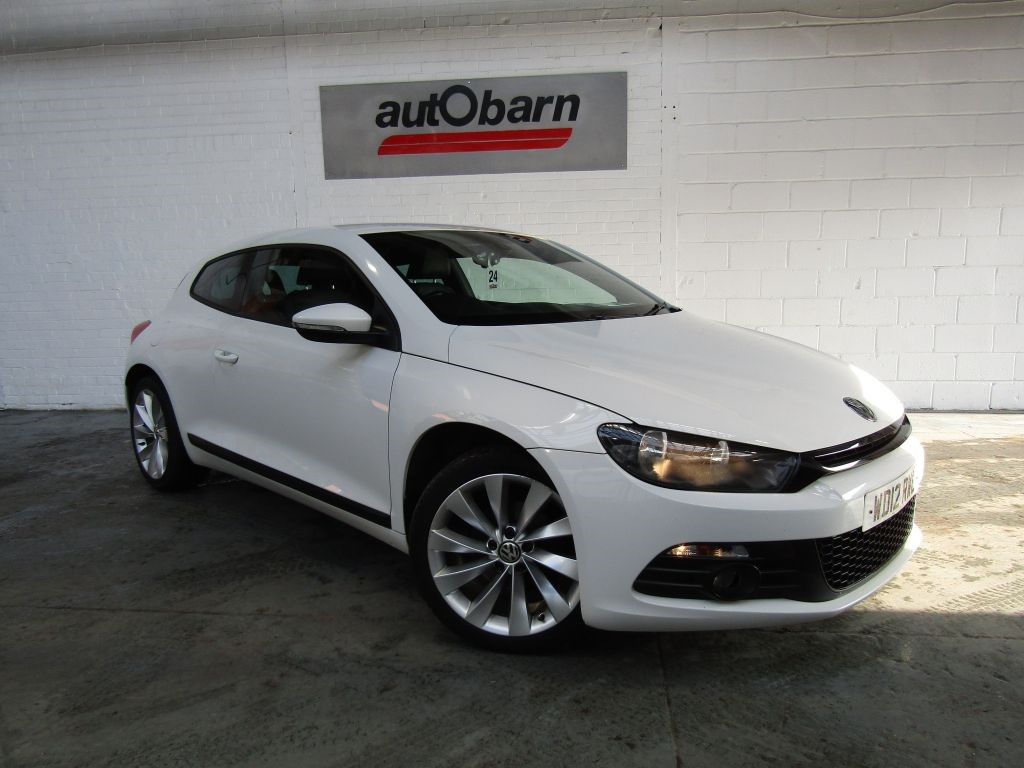 used VW Scirocco GT TDI BLUEMOTION TECHNOLOGY in sheffield