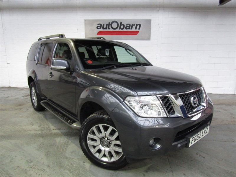 used Nissan Pathfinder in South Yorkshire