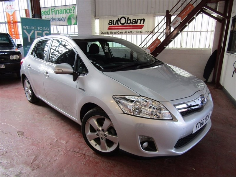 used ToyotaAuris in South Yorkshire