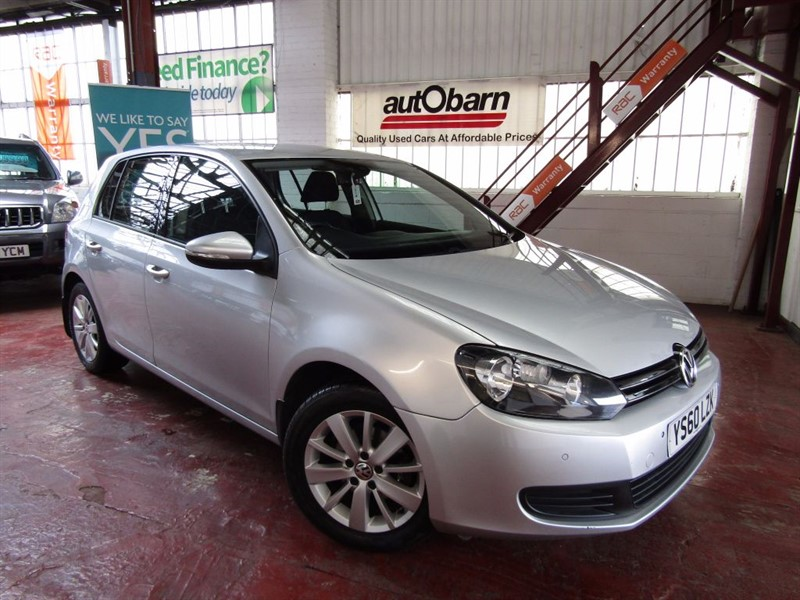 used VWGolf in South Yorkshire