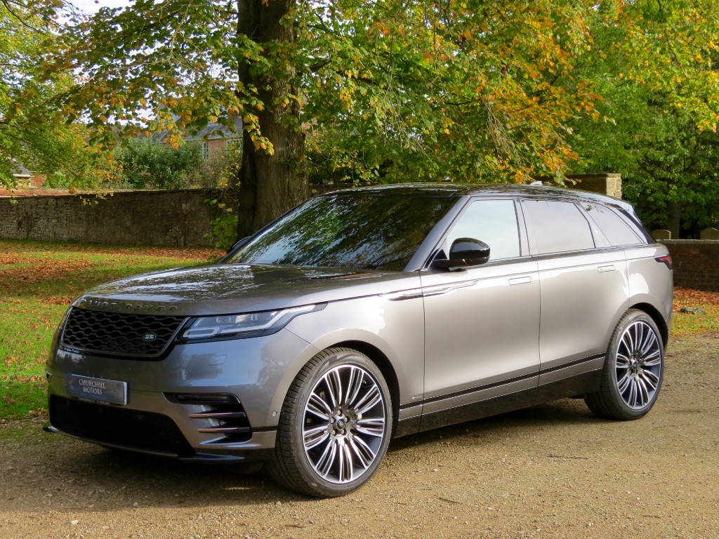 used corris grey land rover range rover velar for sale. Black Bedroom Furniture Sets. Home Design Ideas