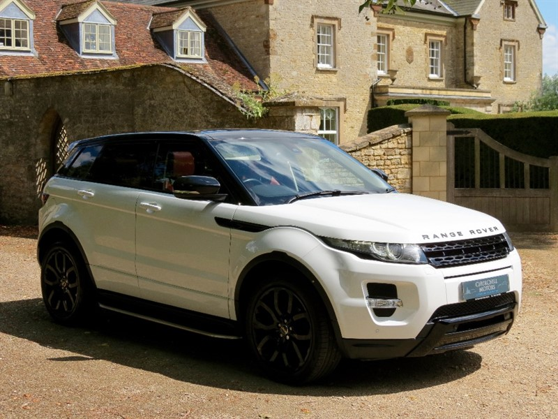 used Land Rover Range Rover Evoque SD4 Dynamic 4x4 5dr in northamptonshire
