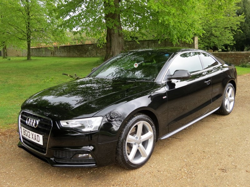 used Audi A5 TDI S LINE in northamptonshire