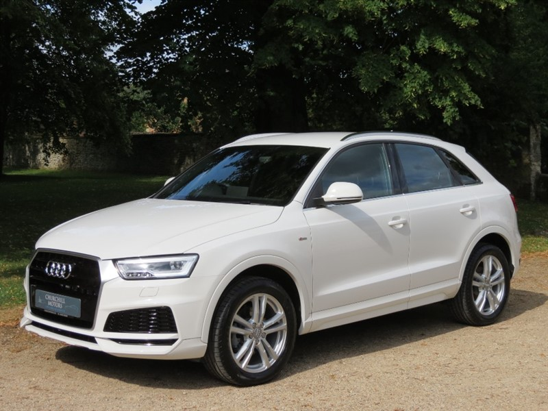 used Audi Q3 TFSI S LINE EDITION in northamptonshire