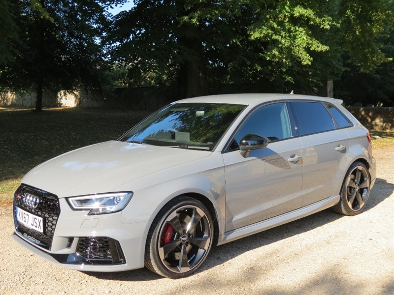 used Audi RS3 QUATTRO in northamptonshire