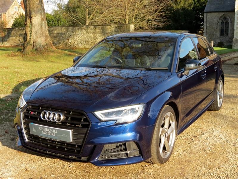 used Audi S3 SPORTBACK TFSI QUATTRO BLACK EDITION in northamptonshire