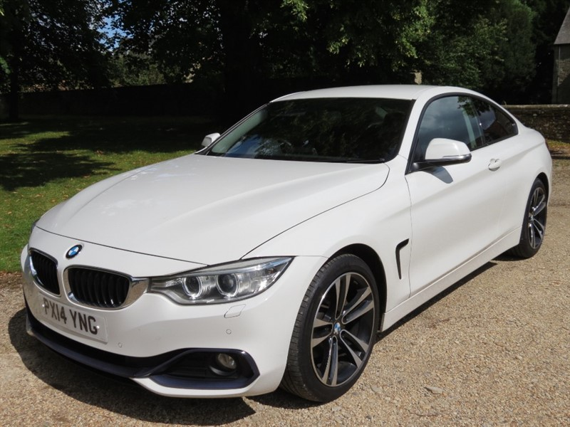 used BMW 420d SPORT in northamptonshire