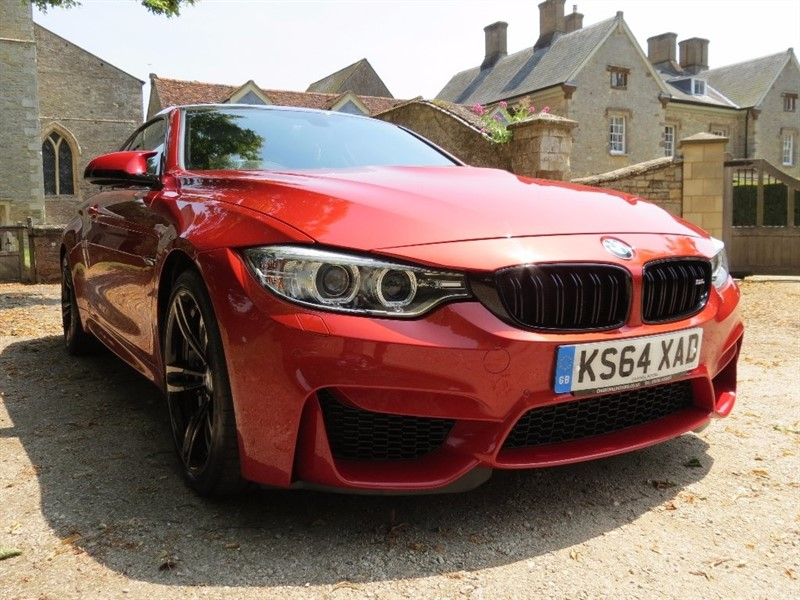 used BMW M4 DCT 2dr (start/stop) in northamptonshire