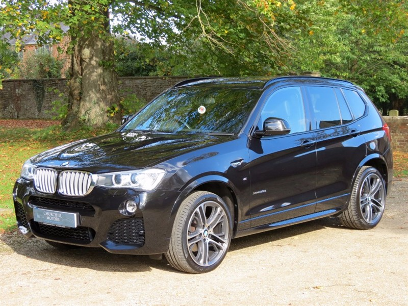 used BMW X3 XDRIVE30D M SPORT in northamptonshire