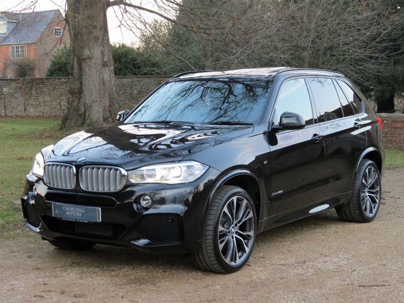 used BMW X5 XDRIVE40D M SPORT in northamptonshire