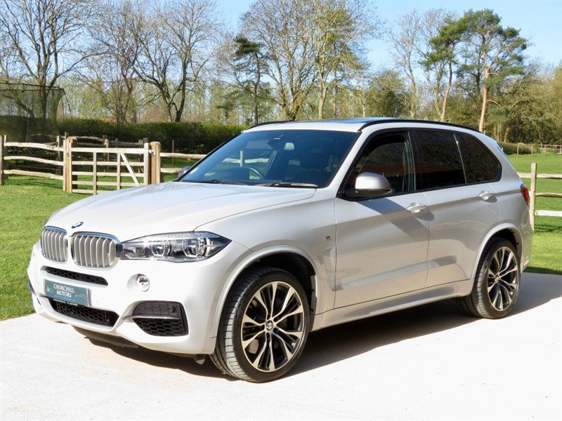 used BMW X5 M50D in northamptonshire