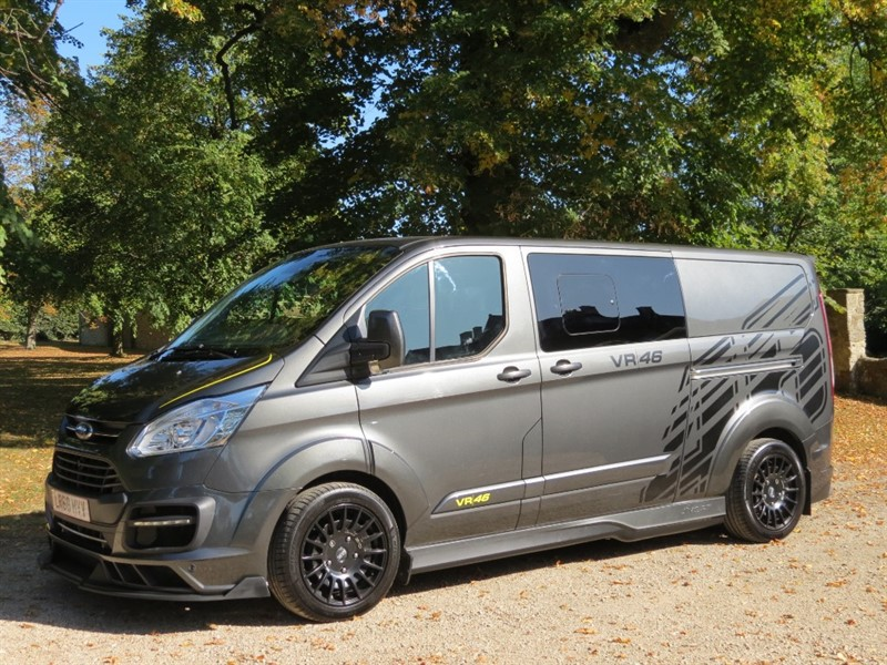 used Ford Transit Custom MS-RT VR46 in northamptonshire