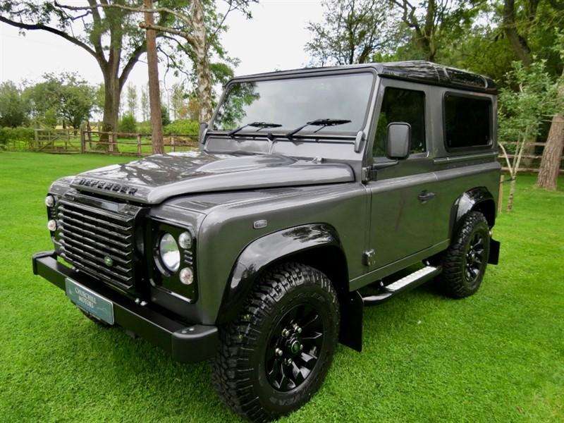 used Land Rover Defender TD LANDMARK in northamptonshire
