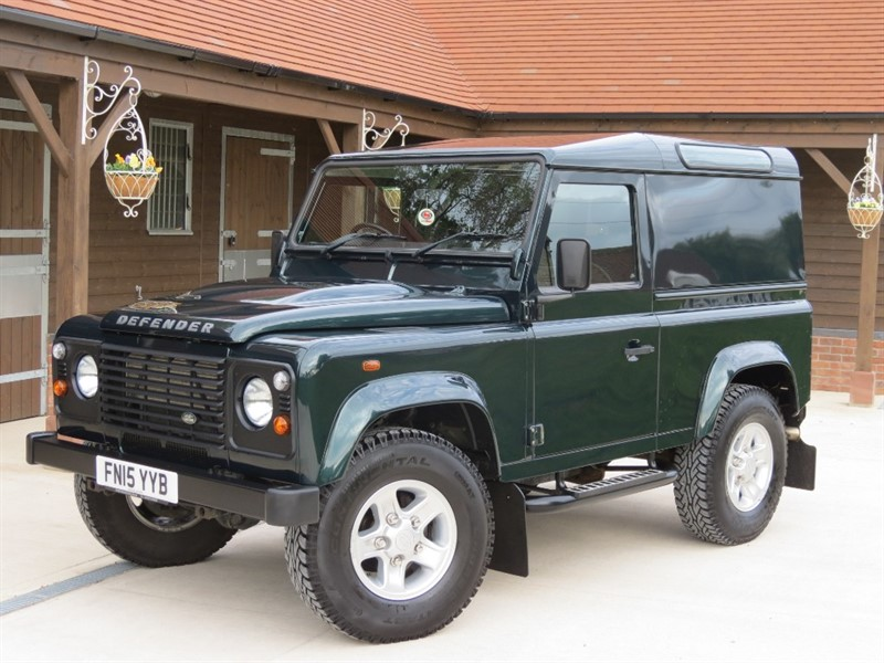 used Land Rover Defender TD HARD TOP in northamptonshire