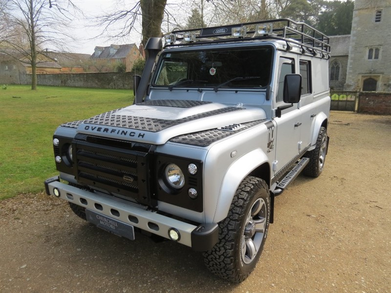 used Land Rover Defender TDI COUNTY UTILITY WAGON DCB in northamptonshire