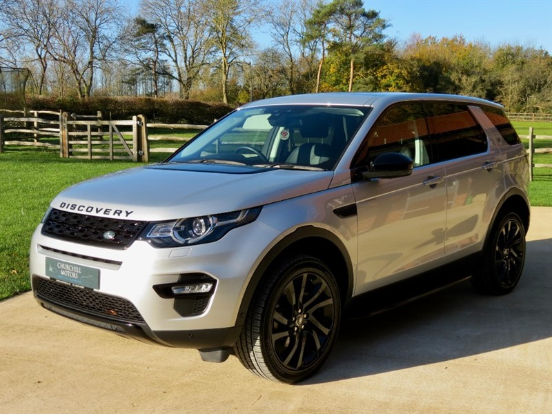 used Land Rover Discovery Sport TD4 HSE LUXURY in northamptonshire