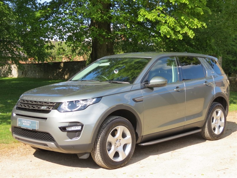 used Land Rover Discovery Sport ED4 SE TECH in northamptonshire