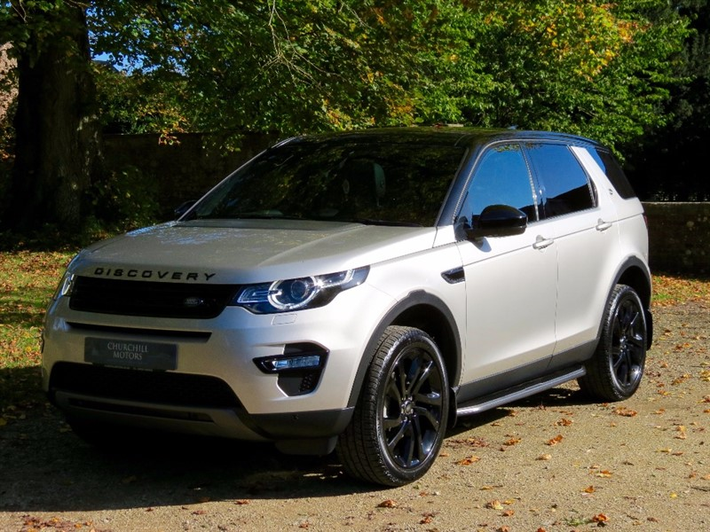 used Land Rover Discovery Sport TD4 HSE BLACK in northamptonshire