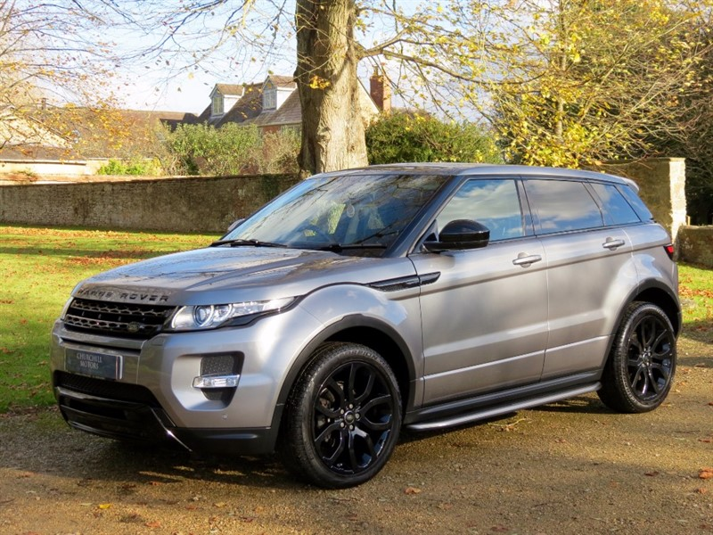 used Land Rover Range Rover Evoque EVOQUE SD4 DYNAMIC in northamptonshire