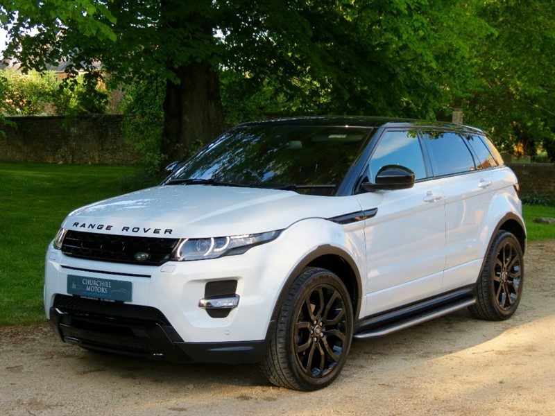 used Land Rover Range Rover Evoque SD4 DYNAMIC in northamptonshire