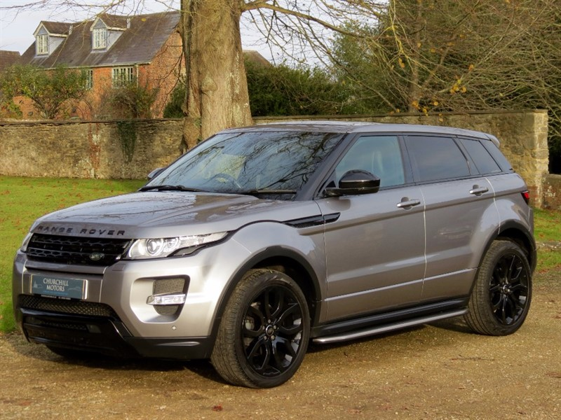 used Land Rover Range Rover Evoque SD4 DYNAMIC PLUS PACK in northamptonshire