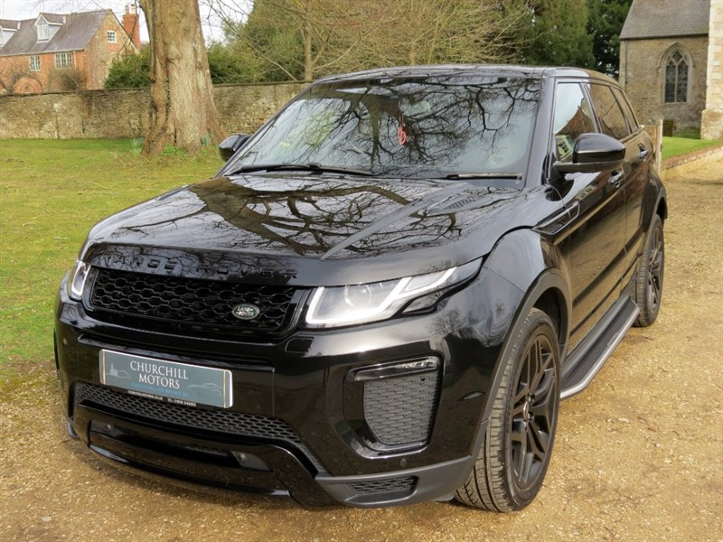 used Land Rover Range Rover Evoque TD4 HSE DYNAMIC in northamptonshire