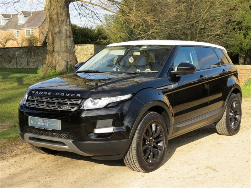 used Land Rover Range Rover Evoque SD4 PURE TECH in northamptonshire
