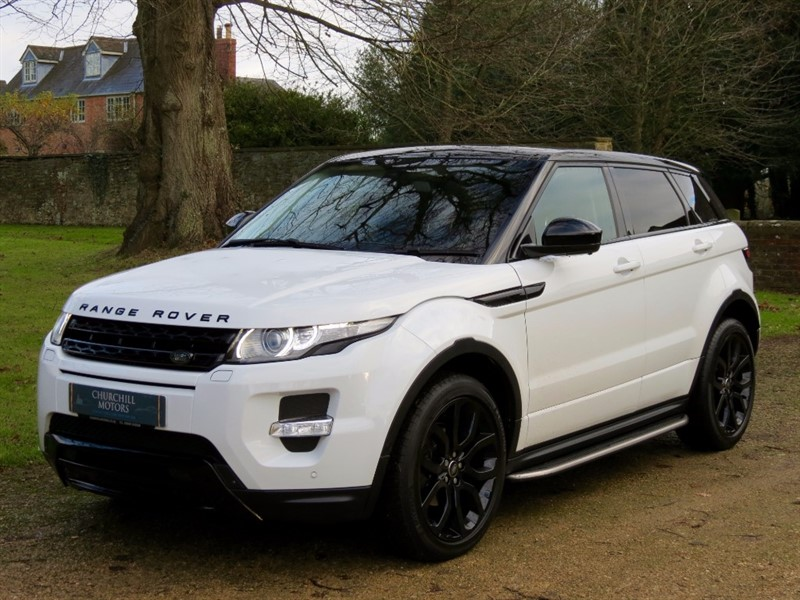 used Land Rover Range Rover Evoque SD4 DYNAMIC LUX in northamptonshire