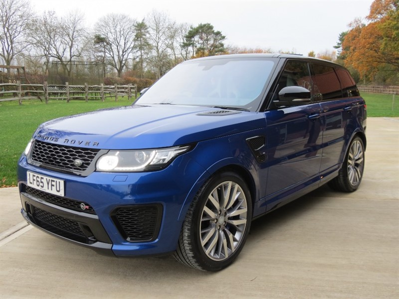 used Land Rover Range Rover Sport SVR in northamptonshire