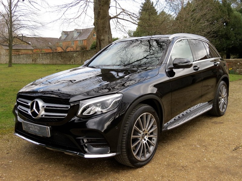 used Mercedes 250 GLC  D 4MATIC AMG LINE in northamptonshire