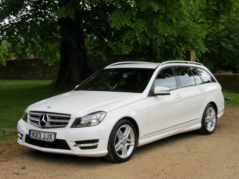 used Mercedes C220 CDI BLUEEFFICIENCY AMG SPORT in northamptonshire