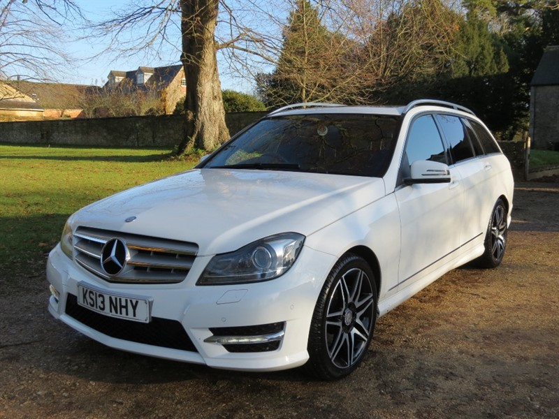 used Mercedes C350 CDI BLUEEFFICIENCY AMG SPORT PLUS in northamptonshire