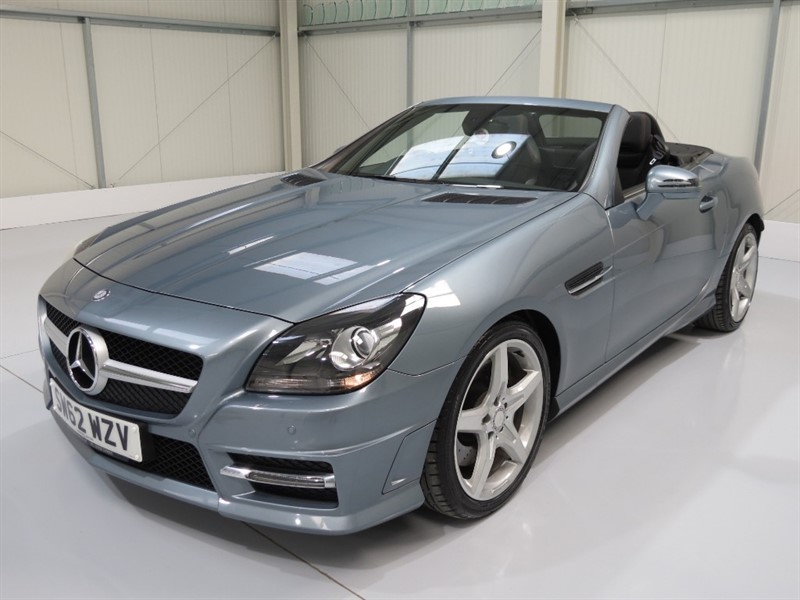 used Mercedes SLK250 CDI BLUEEFFICIENCY AMG SPORT in northamptonshire