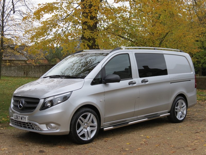 used Mercedes Vito 114 BLUETEC in northamptonshire