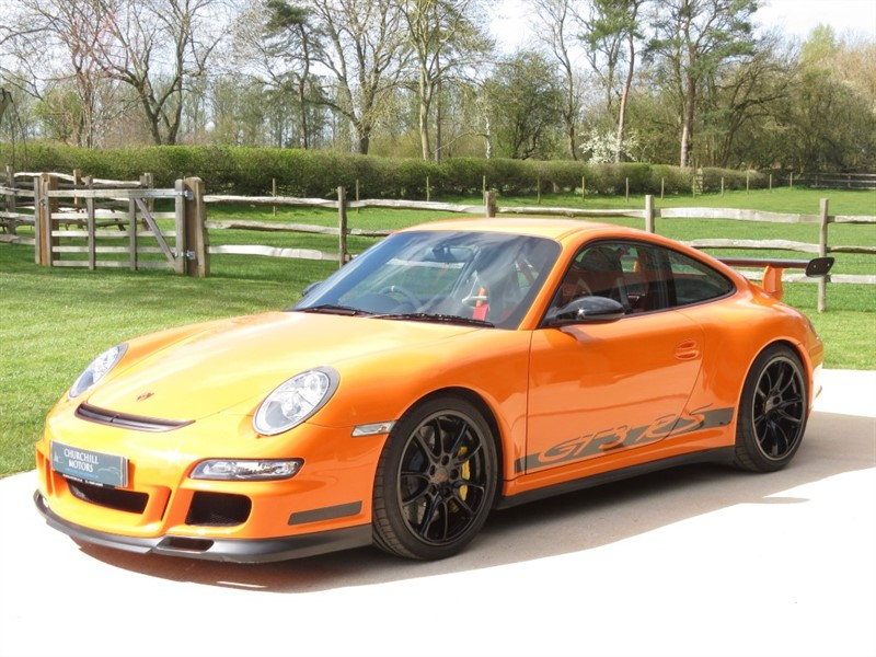 used Porsche 911 GT3 RS in northamptonshire