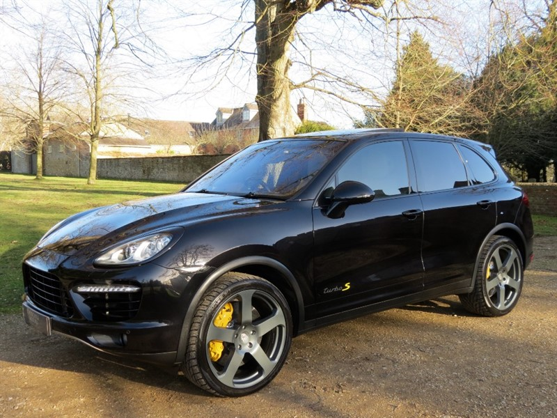 used Porsche Cayenne V8 TURBO TIPTRONIC S in northamptonshire