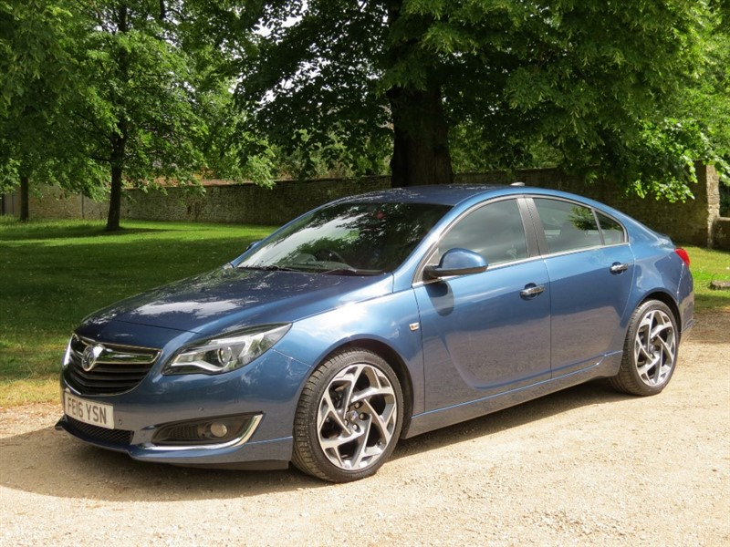 used Vauxhall Insignia LIMITED EDITION CDTI ECOFLEX S/S in northamptonshire