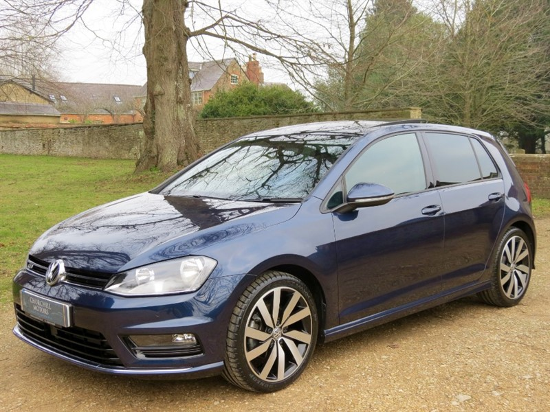 used VW Golf R LINE EDITION TSI ACT BMT in northamptonshire