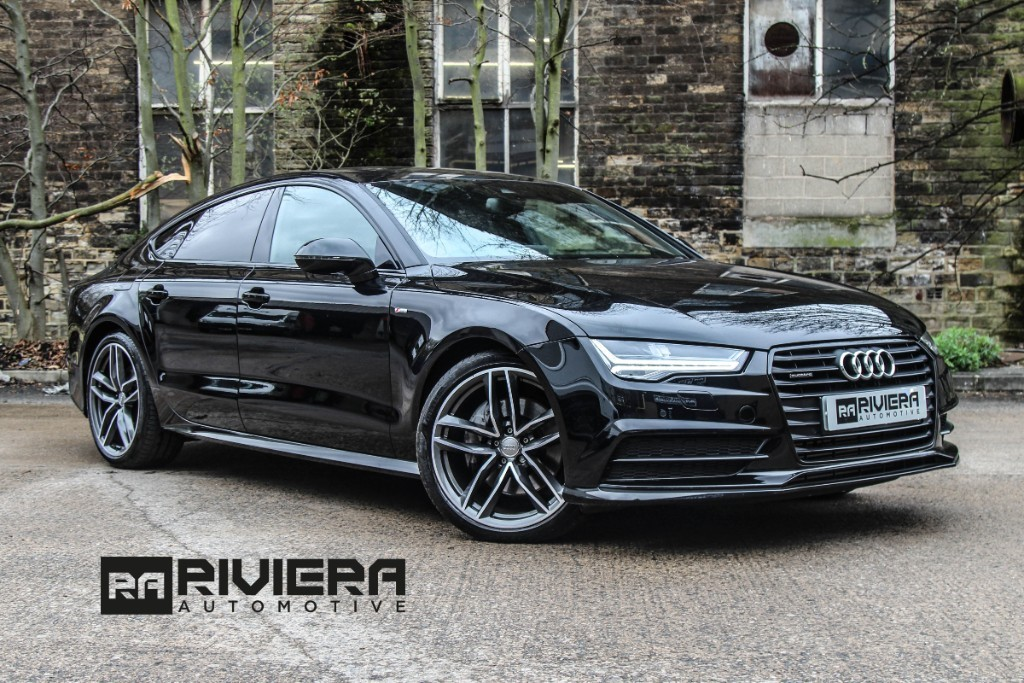 used Audi A7 3.0 TDI Black Edition Sportback S Tronic quattro (s/) in west-yorkshire